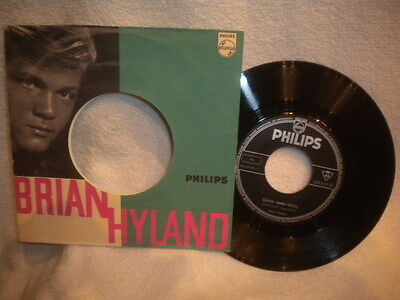 """7"""" Brian Hyland -- Ginny Come Lately / I Should Be Gettin´ Better"""