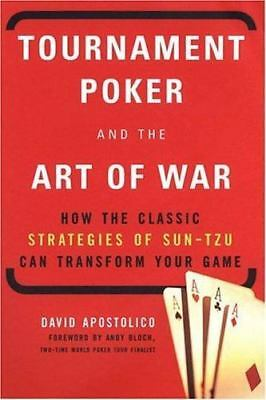 Tournament Poker and the Art of War by David Apostolico Paperback Book (English)