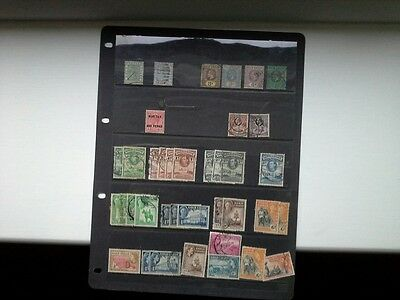 Gold Coast - Selection of Mainly Used Stamps Issued Between 1875 and 1952