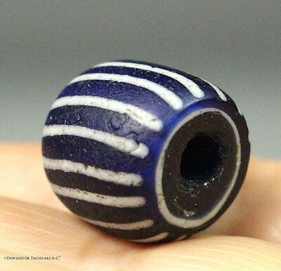 Native American A Speo Venetian Old Trade Bead Indian Artifact NY 1600's