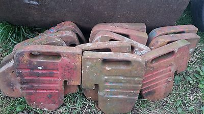 14 Massey Ferguson Tractor Front Weights