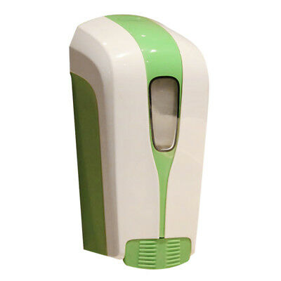 500ml ABS Wall Mount Soap Shampoo Shower Pump Dispenser Lotion Holder Green