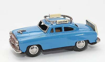 VINTAGE JAPAN TIN TOY CAR AIRPORT LIMOUSINE TAXI 1950s PERIOD