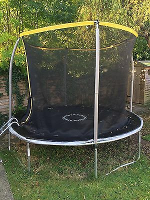 10FT Folding Trampoline With Cover and Ladder