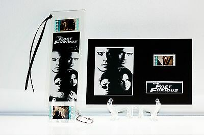 The Fast and the Furious - 3 Piece Movie Film Cell Collection Gift Set