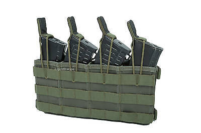 Original Russian Molle Fast Pouch For 4 AK MAGS by SPOSN SSO Olive