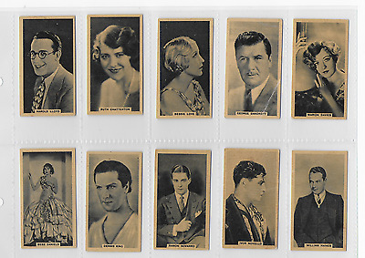 Cinema Stars: 1930 by G Phillips: 23/30