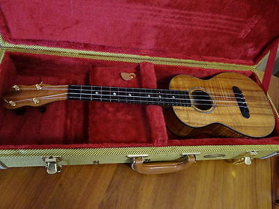 William King Ukulele Like New In Case Serious Musician'S Instrument