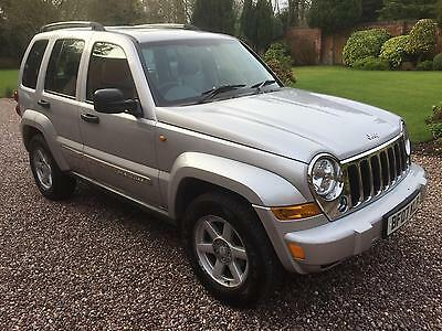 Jeep Cherokee 2.8 CRD auto Limited 1 Owner 106k FSH