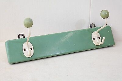 Old Wardrobe, Coat Hook Wall Coat Hook Rail Wood Deco Cult Retro