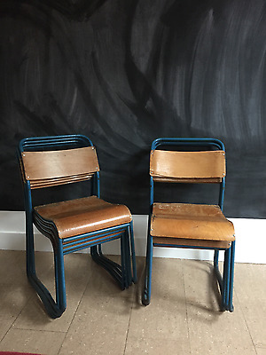 1950's Cox Vintage Industrial Chairs