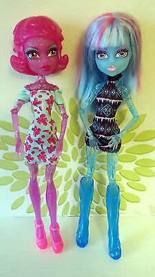 Monster High Dolls Ice and Blob Girls Create A Monster Rare