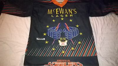 Sheffield Steelers 1995/96 Euro Hockey League jersey XL