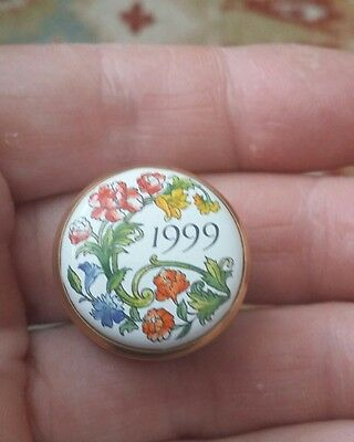Pretty Halcyon Days 1999 Trinket Box