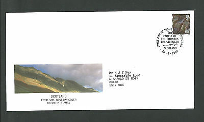Royal Mail FDC 25-4-2000 Scotland Definitive Stamps 65p