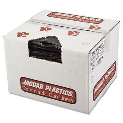 Unisan JAGR4046HH Repro Low-density Can Liners, 2 Mil, 40 X 46, Black,