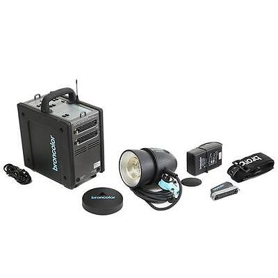 Broncolor Mobil A2L One-Light Travel Kit with MobiLED Lamphead