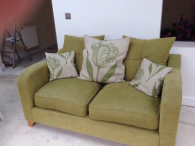 DFS Green Sofa, Great Condition. Pick Up Thorpe Astley Leicester