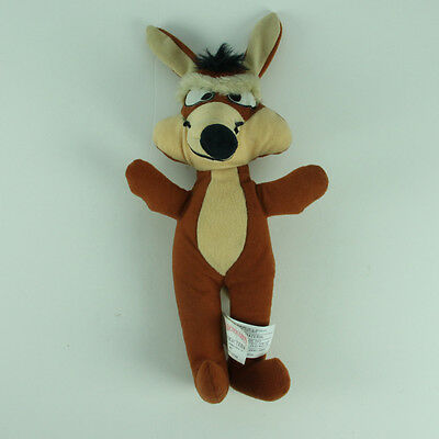 "Vintage 1971 Wile E Coyote Plush Doll 12"" Stuffed Animal Warner Brothers"