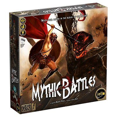 Iello Games, Mythic Battles Board Game, new and sealed,