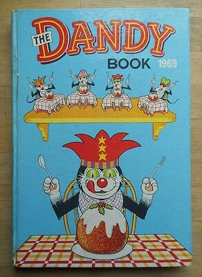 The Dandy Book annual 1969 unclipped excellent condition