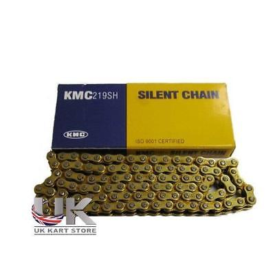 KMC 112 Link 219 Pitch Gold / Gold Premium Chain