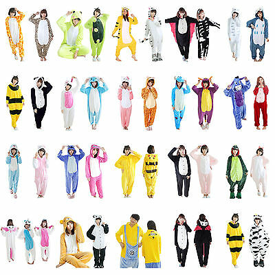 Hot New Unisex Adult Pajamas Kigurumi Cosplay Costume Animal Onesie Sleepwear!!&