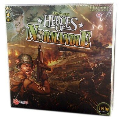 Iello Games, Heroes of Normandie board game, new and Sealed