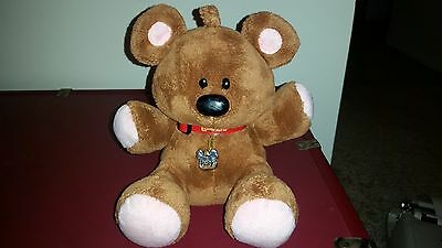 "POOKY TY Beanie Baby 8"" PLUSH GARFIELD MOVIE EXCLUSIVE TEDDY BEAR TOY Rare Size"
