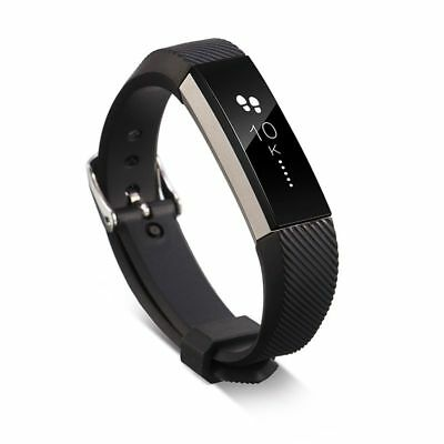 TPU Replacement Sports Watch Wrist Band Strap Metal Buckle Clasp for Fitbit Alta