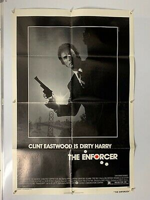 The ENFORCER clint eastwood DIRTY HARRY Original US One Sheet 1-sheet Poster