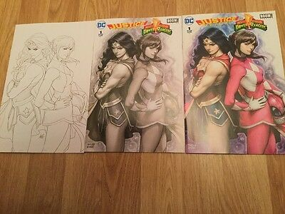 """3 New/sealed Stanley """"artgerm"""" Lau Variant Cover Edition Comics"""