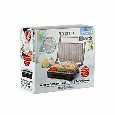 Salter Marble Collection Ceramic Health Grill and Panini Maker EK2009