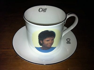 CLIFF RICHARD bone china Cup and Saucer