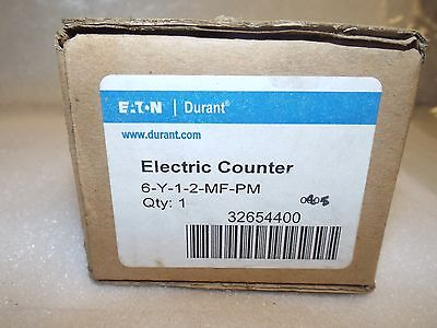 Eaton Durant 6-Y-1-2-Mf-Pm Electric Counter