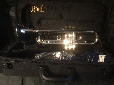 Special Offer Vincent  Bach TR400 Bb Trumpet In Silver