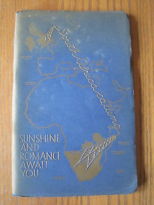 South African Railways 1934 Illustrated 5000 Miles AMAZING FREE SHIPPING