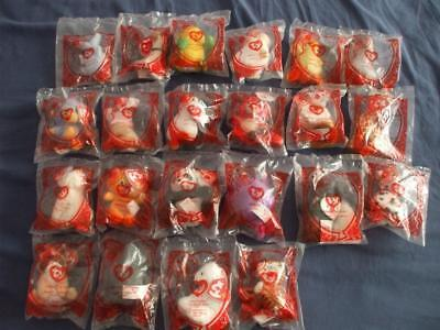 McDONALDS HAPPY MEAL TOYS:TY BEANIES 2009:22 TO CHOOSE FROM MENU