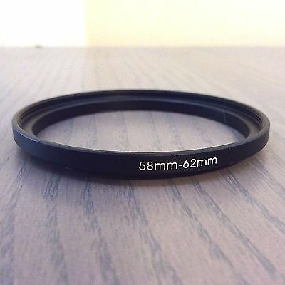 18 Used Step-Up Filter Adapter Rings - 58mm-62mm 58mm to 62mm