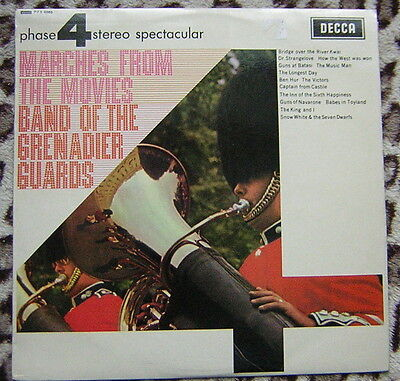 Band of the Grenadier Guards - Marches from the Movies Vinyl LP