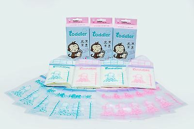 Toddler Baby Breastmilk Storage Bag Ziplocks BPA Free Pre-Sterilised Pack of 22