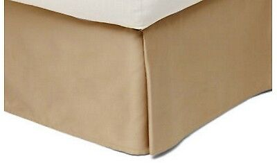 New 100% Eqyptian Cotton 400TC Queen Tailored Bed Skirt by Royal Velvet~