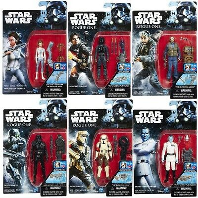 "Star Wars Rogue One 3 3/4"" Action Figures Wave 3 FULL SET of 6 ( Thrawn )"
