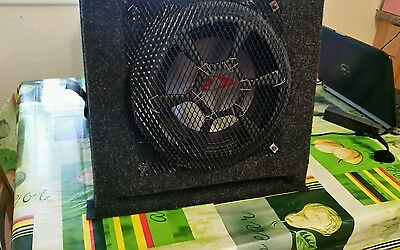 alpine type r subwoofer (with enclosure & grill)