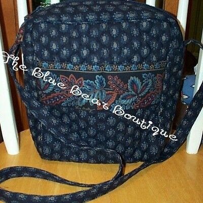 Vera Bradley Retired Rare Classic Navy Moms Day Out Bag