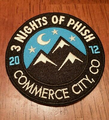 Phish Patch Dick's  2012 (dead, pin, print, msg, new year's)