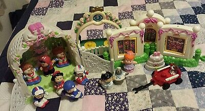 Job lot/bundle of Fisher Price Little People incl VHTF Olympic figures