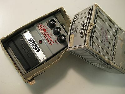Vintage Early DOD FX20-B Stereo Phaser Guitar Effect Pedal