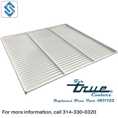 White Coated Wire Shelf for True GDM26 Coolers - True 871752