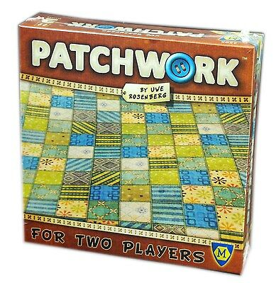 Mayfair Games, , Patchwork for two players, Board game New and Sealed
